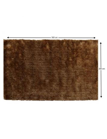 Covor, maro-auriu, 200x300, DELAND, 0000201447