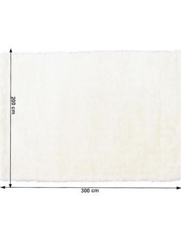 Covor 200x300 cm, alb, AMIDA, 0000194093