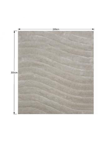 Covor 200x300 cm, alb/gri, SELMA, 0000194117