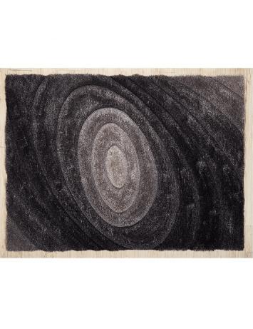 Covor 200x300 cm, gri, cu model, VANJA, 0000194121