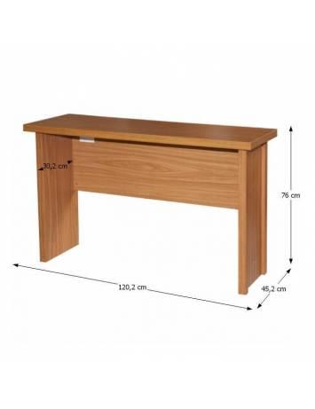 Masă de birou, cireş, OSCAR T02, 09016448