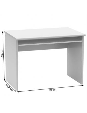 Masă de birou, alb, JOHAN 2 NEW 02, 0000278006