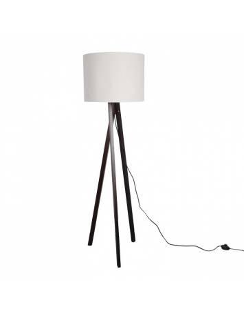 LAMPADAR ALB/LEMN NEGRU, LILA TYP 9 LS6062, STIL MODERN, TK