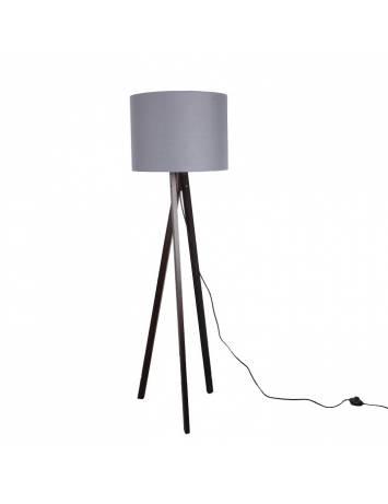 LAMPADAR GRI/LEMN NEGRU, LILA TYP 10, STIL MODERN,TK