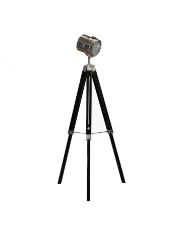 LAMPADAR LEMN NEGRU/METAL, CINDA TYP 26 YF819-B, STIL MODERN TK