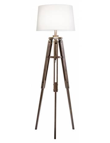 LAMPADAR, TREPIED 158CM, COD 40629, DIN LEMN, ASPECT INDUSTRIAL