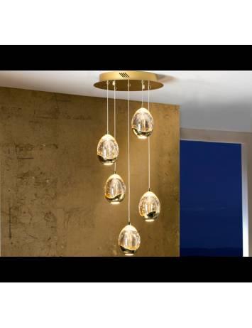 LUSTRA/PLAFONIERA CU LED ROCIO 783529 DESIGN MODERN SCHULLER