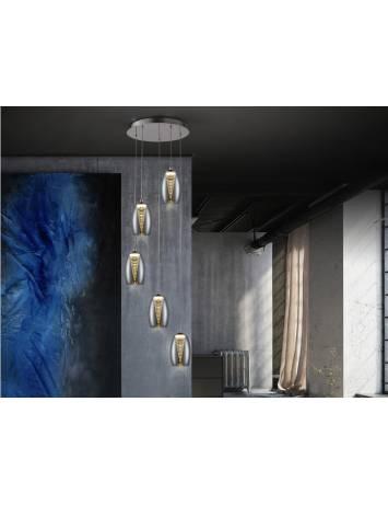 LUSTRA/PLAFONIERA LED NEBULA 584438 DESIGN MODERN SCHULLER