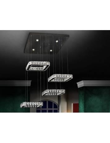 LUSTRA LED DIVA 854537 DESIGN MODERN SCHULER