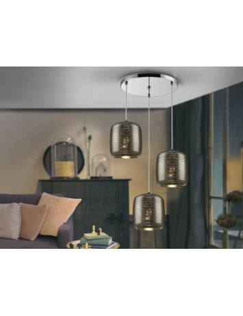 LUSTRA/PLAFONIERA LED VIAS  654942 DESIGN MODERN - SCHULLER