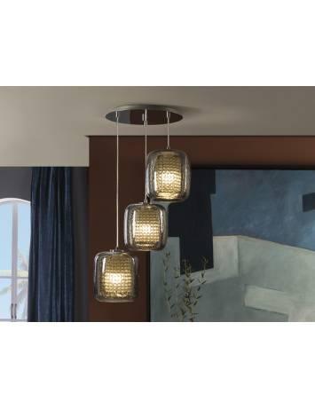 PLAFONIERA LED AQUA  654639 DESIGN MODERN - SCHULLER