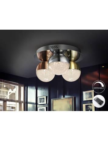 PLAFONIERA LED CU TELECOMANDA SPHERE 794025D DESIGN MODERN SCHULLER