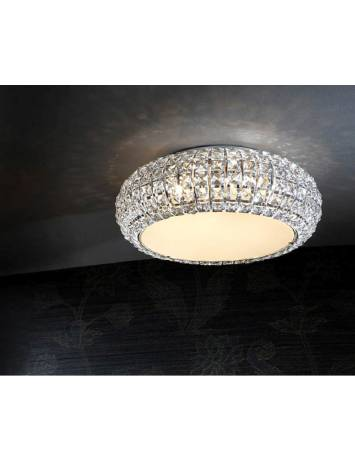 PLAFONIERA LED DIAMOND CRISTAL 507039 - DESIGN MODERN SCHULLER