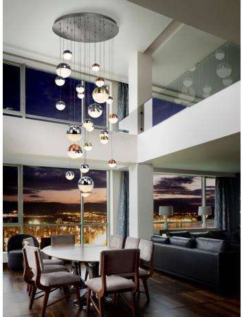 LUSTRA/PLAFONIERA LED SPHERE 793960G - DESIGN MODERN - SCHULLER