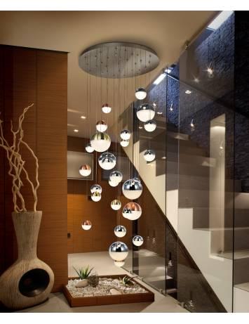 LUSTRA/PLAFONIERA LED SPHERE 793960D - DESIGN MODERN - SCHULLER