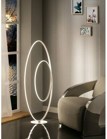 LAMPADAR CU LED LOOP 614157 STIL MODERN SCHULLER