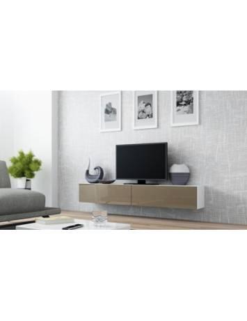 COMODA LIVING RTV VIGO 180 ALB/LATTE DESIGN MODERN CM