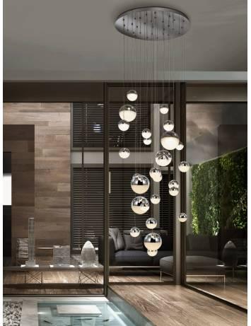 LUSTRA/PLAFONIERA LED SPHERE 793971G - DESIGN MODERN - SCHULLER