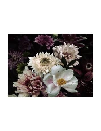 TABLOU DECORATIV FLOWERS IV 80X80 DIN STICLA DESIGN EXCLUSIVIST, SIGNAL