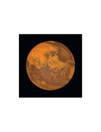 TABLOU DECORATIV MARS 80X80 DIN STICLA DESIGN EXCLUSIVIST, SIGNAL