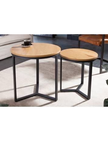 Set de 2 masute de cafea STUDIO - cod 41206