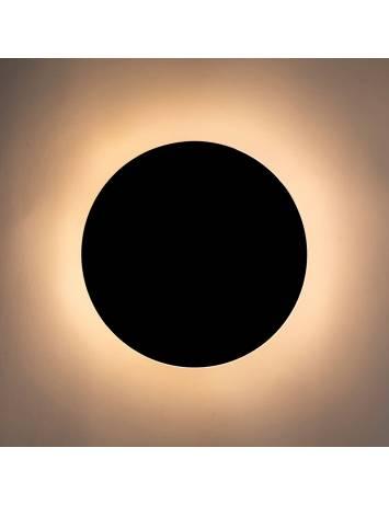 APLICA/PLAFONIERA SHADOW SUN, DIN METAL, NEGRU MAT, STIL MODERN, B2