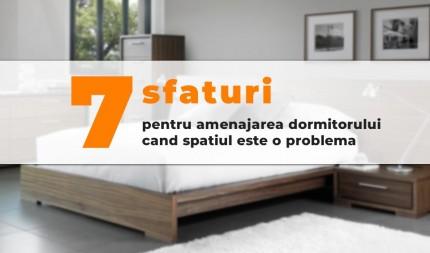 7 sfaturi pentru amenajarea dormitorului cand spatiul este o problema